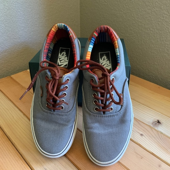 vans era 59 steel grey